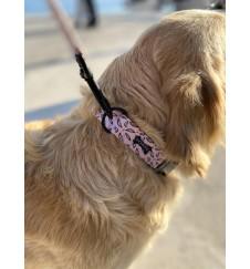 "Collier pour chien ""Pinky""-Accueil"