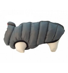 Doudoune réversible pour chien - rose/gris-Accueil