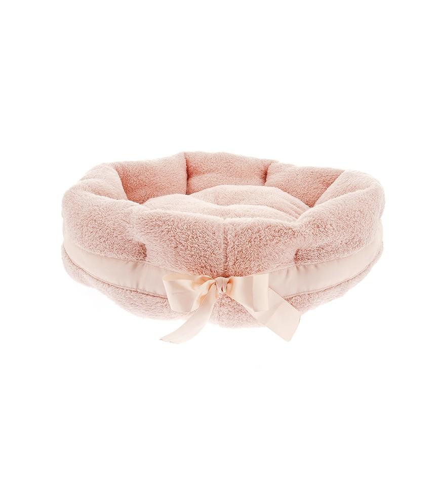 Corbeille Ultra Douceur pour chien ou chat - rose-Accueil