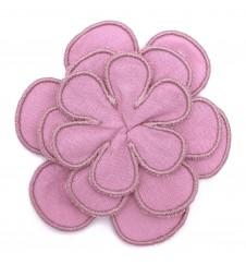 Fleur pour collier - rose tendre-Accueil
