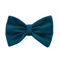 Noeud papillon pour collier - uni vert paon-Accueil