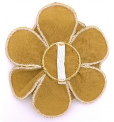 Fleur pour collier - ocre-Accueil